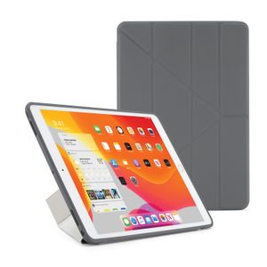 PIPETTO Pipetto Origami Case TPU backside iPad 10.2 Grey (P052-50-7)