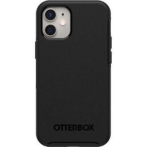OTTERBOX Symmetry+ for iPhone 12 mini med MagSafe, sort (77-80137)