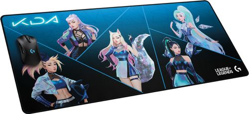 LOGITECH G840 XL Gaming Mouse Pad - LOL-KDA2.0 (943-000458)