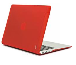 Aiino Aiino - MacBook Air 13 Hard Case Matte - Red (AIMBA13M-RED)