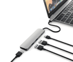 Satechi Satechi usb-c Adapter 4K HDMI Video & 2 USB 3.0 Space Grey