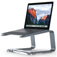 GRIFFIN Griffin Elevator Laptop Stand - Matte Space Grey/Clear