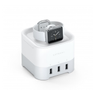Satechi Satechi Smart Charging Stand Apple Watch/iPhone Silver