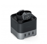 Satechi Satechi Smart Charging Stand Apple Watch/iPhone Space Grey