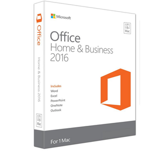 MICROSOFT Microsoft Office Mac Home & Business 2016 (W6F-00867)
