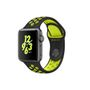 APPLE AW Nike+, 38mm Space Grey Alu w/ Black/Volt Nike Sport Band