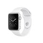 APPLE AW Series 1, 42mm Silver Alu w/ White Sport Band