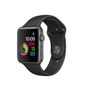 APPLE AW Series 1, 42mm Space Grey Alu  w/ Black Sport Band
