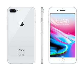 APPLE iPhone 8 Plus - 64GB Silver (MQ8M2QN/A)