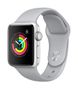 APPLE AW Series 3 GPS, 38mm Silver Alu Case Fog Sport Band
