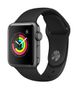 APPLE AW Series 3 GPS, 38mm Space Grey Alu Case  Black Sport Band