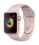APPLE AW Series 3 GPS, 38mm Gold Alu Case Pink Sand Sport Band