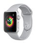 APPLE AW Series 3 GPS, 42mm Silver Alu Case Fog Sport Band