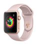 APPLE AW Series 3 GPS, 42mm Gold Alu Case Pink Sand Sport Band