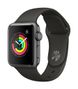APPLE AW Series 3 GPS, 38mm Space Grey Alu Case Grey Sport Band