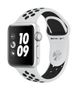 APPLE EOL AW Nike+ GPS, 38mm Silver Alu Case Pure Plat/Bl Nike Sp