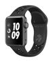 APPLE AW Nike+ Series 3 GPS, 38mm Sp Grey Alu Anthr./Black Sport
