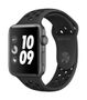 APPLE AW Nike+ Series 3 GPS, 42mm Sp Grey Alu Anthr./Black Sport