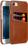 MELKCO Melkco Cover with Dual Card Slot iPhone 7/8 Brown