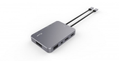 LMP LMP USB-C Display Dock 4K, 10 Port space grey