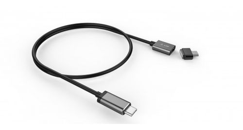 LMP LMP USB-C Charge Cable (3m) Magnetic Safety SpaceGray (17466)