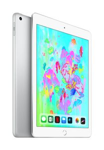 APPLE EOL iPad Wi-Fi + Cellular 32GB - Silver (2018) (MR6P2KN/A)