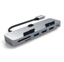 Satechi Satechi USB-C Clamp Hub Pro Space Grey- for iMac/iMac Pro