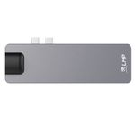 LMP LMP USB-C Compact Dock 4K, 8 Port space grey
