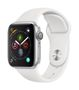 APPLE AW Series4 GPS,40mm Silver Alu Case White Sport Band