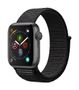 APPLE AW Series 4 GPS, 40mm Space Grey Alu Case Black Sport Loop