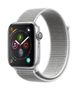 APPLE AW Series 4 GPS, 44mm Silver Alu Case Seashell Sport Loop