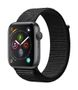 APPLE AW Series 4 GPS, 44mm Space Grey Alu Case Black Sport Loop