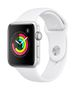 APPLE AW Series 3 GPS, 42mm Silver Alu Case White Sport Band