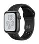 APPLE AW Nike+ Series 4 GPS, 40mm Sp Grey Alu Anthr./Black Sport
