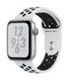 APPLE AW Nike+ Series 4 GPS, 44mm Silver Alu Pure Plat/Black Sport