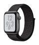 APPLE AW Nike+ Series 4 GPS, 40mm Sp Grey Alu Black Sport Loop
