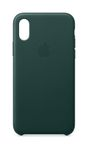 APPLE iPhone XS Leather Case - Forest Green