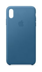APPLE iPhone XS Max Leather Case - Cape Cod Blue