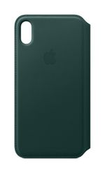 APPLE iPhone XS Max Leather Folio - Forest Green