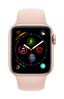 APPLE AW Series4 GPS, 40mm Gold Alu Case Pink Sand Sport Band (MU682DH/A)