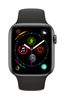 APPLE AW Series 4 GPS, 44mm Space Grey Alu Case Black Sport Band (MU6D2DH/A)