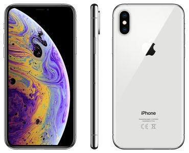 APPLE iPhone XS - 256GB Silver (MT9J2QN/A)