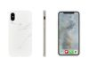 Oslomade Oslomade iPhone Xs Max Opera White Marble (PC-S04-IP6.5)