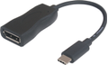 MICROCONNECT MicroConnect USB-C to DisplayPort cable 4K 60Hz Support 1m