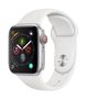 APPLE AW Series 4 GPS Cell 40mm Silver Alu White Sport Band