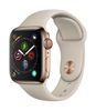 APPLE EOL AW Series4 GPS Cell 40mm Gold Stainl Steel Stone Sport (MTVN2DH/A)