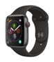 APPLE AW Series 4 GPS Cell 44mm Sp Grey Alu Black Sport Band