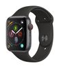 APPLE EOL AW Series 4 GPS Cell 44mm Sp Grey Alu Black Sport Band (MTVU2DH/A)
