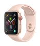 APPLE AW Series 4 GPS Cell 44mm Gold Alu Pink Sand Sport Band