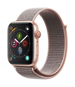 APPLE EOL AW Series 4 GPS Cell 44mm Gold Alu Pink Sand Sport Loop (MTVX2DH/A)